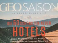 Breac.House makes Top 50 Hotels GEO SAISON